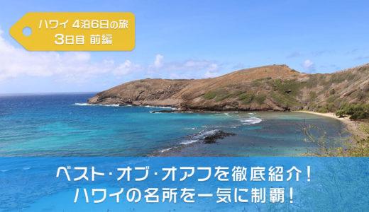 【ハワイ旅行】JALパックのベスト・オブ・オアフを徹底紹介!